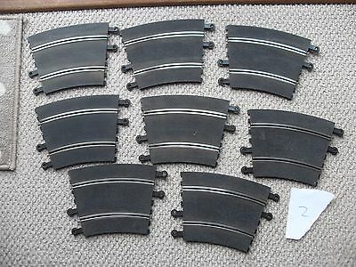 8 x SCALEXTRIC CLASSIC TRACK OUTER CURVE PT/53