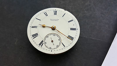 A Watchmakers Pocket Watch Movement By Waltham Mass