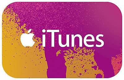 $15 Itunes Gift Card, No Shipping Needed! (e-mail delivery)