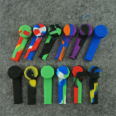 Silicone Smoking Pipe with Bowl