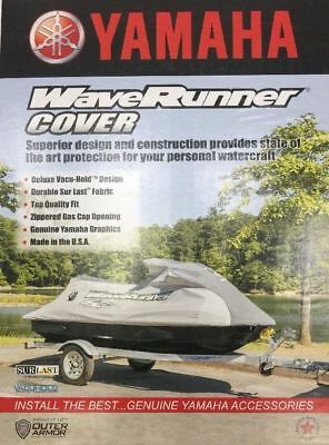 OEM Yamaha Waverunner Storage Cover Black (Fits 2005-09 VX Deluxe/Sport Series)