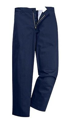3 Pack - Portwest 2886 Industrial Work Pants 32T Navy