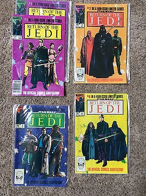"Marvel Comics ""Return Of The Jedi"" #1 X 2; 2-4 Mint"