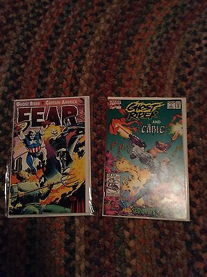 Ghost Rider Lot Fear And Ghost Rider And Cable