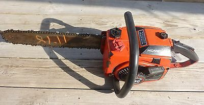 """Vintage Homelite 360 Automatic Professional Chainsaw 16"""" Bar"""