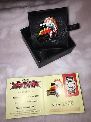 Guinness Limited Edition Toucan Badge Millennium Collectables Rare