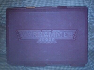 Large warhammer carry case red