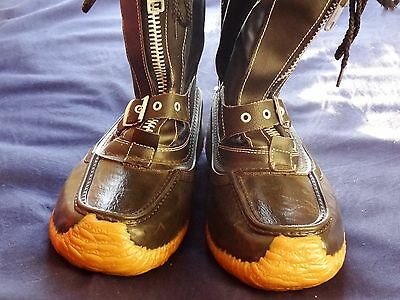 Vintage 1970s Insulated Snowmobile Thermal Boots Excellent Sz 9