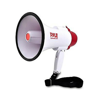 Pyle-Pro PMP30 Professional Megaphone/Bullhorn with Siren Free Shipping, New