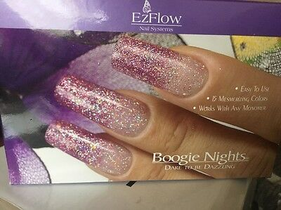 EZFLOW NAIL SYSTEMS Dare To Be Dazzling-REDUCED-£40!! FREE P & P