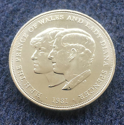 1981 Crown Coin Diana Royal Wedding commemorative uncirculated wallet POST FREE!