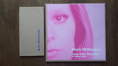 "Mary Millington – Come Play With Me (Ltd 10"" blue vinyl EP) + limited chapbook"