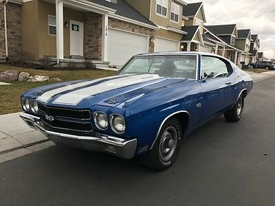 1970 Chevrolet Chevelle  1970 Chevelle Matching Numbers 350 SS Clone 1969 1971 1972 454 Small Block