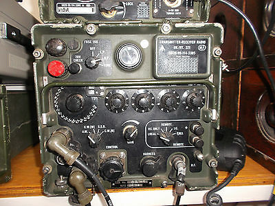Clansman Military Hf Transceiver Vrc 321 Tested Very Good Working Condition