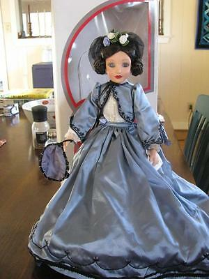 "Effanbee Doll ""Melanie"" Fashions of the Ages (ca. 1865) 14"" In Original Box #DTI"