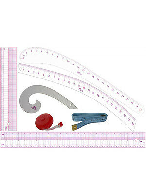PGM Fashion Student Design Tool Set Pattern Making Tools Supply