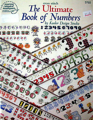 American School of Needlework - THE ULTIMATE BOOK OF NUMBERS - Cross Stitch -VGC