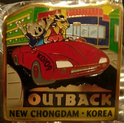 J6141 Outback Steakhouse Korea New Chongdam hat lapel pin