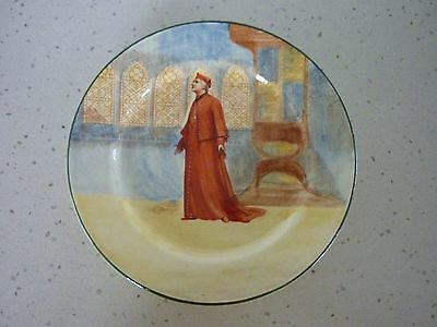 Royal Doulton Shakespeare D3596 19.5cm 'Wolsey' entree plate