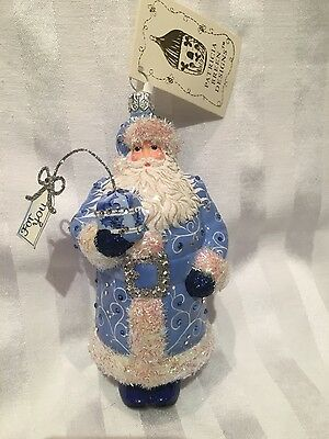 Patricia Breen I Come Bearing Gifts Blue Nwt