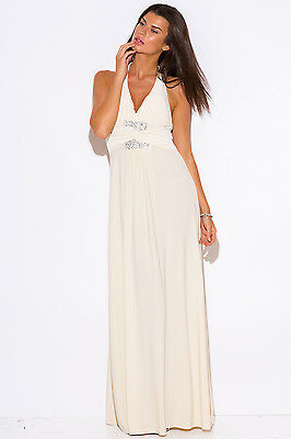 New Women Formal Evening Cocktail Gown Party Prom Beach Long Maxi Dress Wedding
