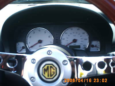 Mg Mgf Mgtf Mg Tf  Alloy Speedo Ring Dial Surrounds !