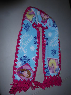 New Frozen with Anna & Elsie Fleece scarf w/ free shipping