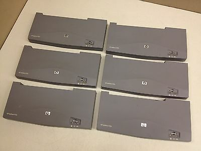 LOT of 6 Working HP JetDirect 510x Print Server (NO AC Adapters)