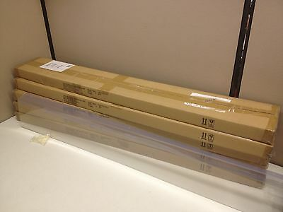 "LOT of 25 48"" x 6"" Tall Retail Price Label Sign Holder Gondola Shelf Shelving"