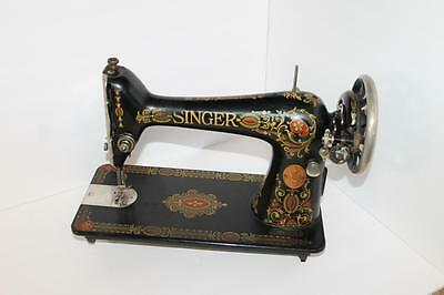 Antique 1919 Singer 66 Red Eye Treadle Sewing Machine Head Very Nice!