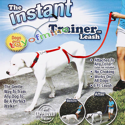 Instant Trainer Dog Leash - Trains Dogs 30 Lbs Stop Pulling - AS SEEN ON TV