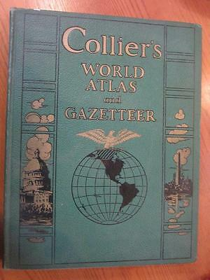 Collier's World Atlas and Gazetteer 1942 Edition