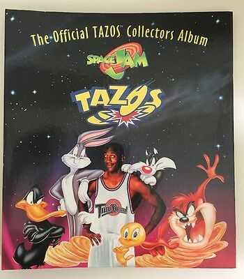 Official Tazo Collectors Album - Space Jam Edition COMPLETE