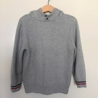 Size 5 Fred Bare Hooded Boys Jumper