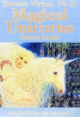 Magical Unicorns Oracle Cards, Doreen Virtue Cards Book The Cheap Fast Free Post