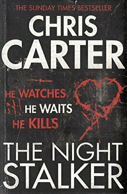 The Night Stalker Pa by Chris Carter Book The Cheap Fast Free Post