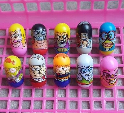 Mighty Beanz Lot 10 Total