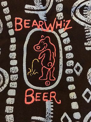 NEW OLD STOCK Bear Whiz Beer Aprons - Lot of 12