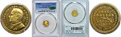 1903 La. Purchase - McKinley $1 Gold Commemorative PCGS PR-63 CAC
