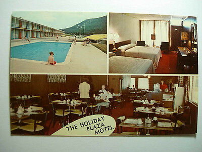 1970's Holiday Plaza Restaurant & Motel Jellico Tennessee TN Postcard y9469-23