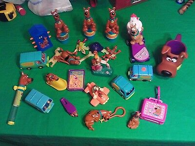 Scooby-doo toy lot