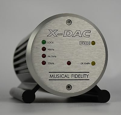 Musical Fidelity X-Dac Digital to Analog Converter with PSU   FAST POST   1230