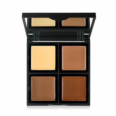 E.L.F. elf Cosmetics Cream Contour Palette 4 Shades 12.4g sculpting Bronzer AUS