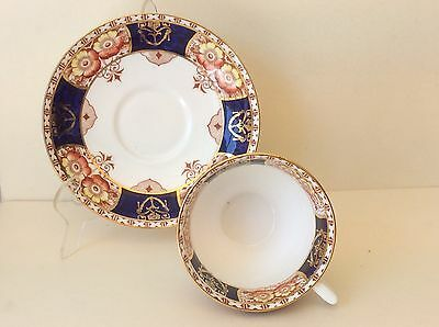 Vintage Colclough Porcelain Cup & Saucer w/Imari Pattern, England, marked