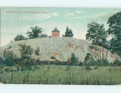 Divided-Back POSTCARD FROM Dedham Massachusetts MA HM7652