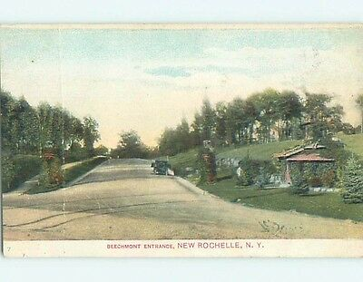 Damaged Divided-Back POSTCARD FROM New Rochelle New York NY HM7439