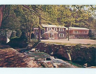 Pre-1980 MOTEL SCENE Gatlinburg Tennessee TN hk1701
