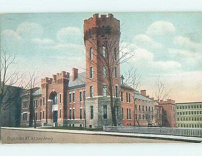 Divided-Back POSTCARD FROM Binghamton New York NY HM7797