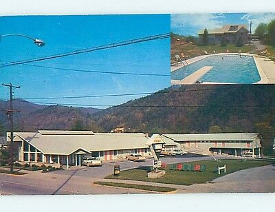 Pre-1980 MOTEL SCENE Gatlinburg Tennessee TN hk0988