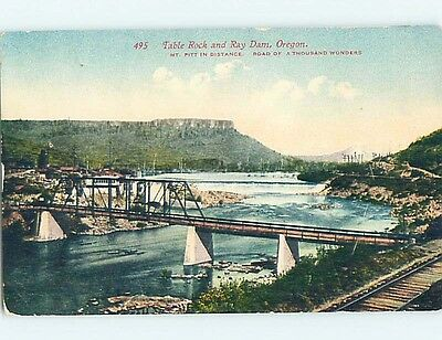 Unused Divided-Back POSTCARD FROM Central Point Oregon OR HM5763